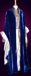 Elrond blauer Mantel