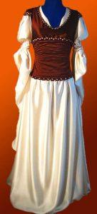 Ewoyns Kleid mit Korsage