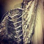 Schnürung Aschenbrödels Brautkleid