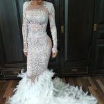 Kim Kardashians Met Gala Kleid uminterpretiert